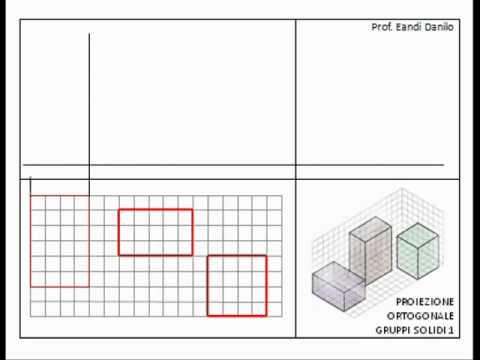 Proiezione ortogonale gruppo solidi 1