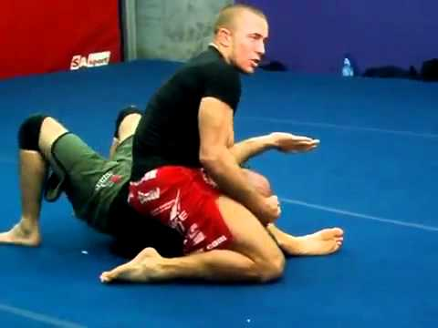 Georges St Pierre - Armbar Tutorial!!