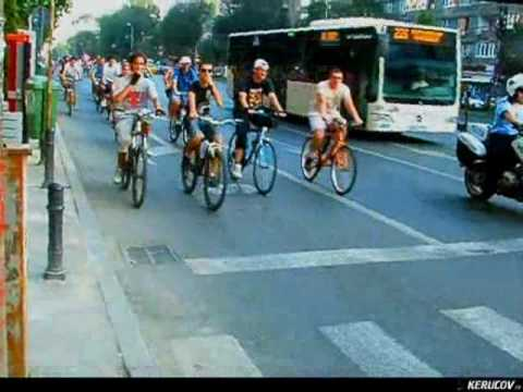 VIDEOCLIP BikeWalk Romania 7 august 2010 - Pentru ca suntem multi!