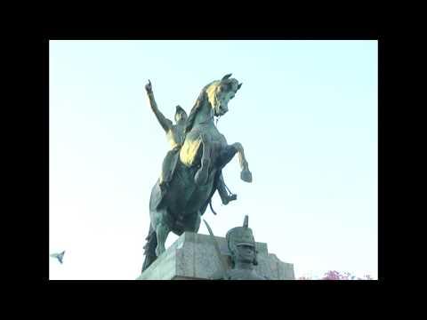 Así fue el izamiento de la bandera en Paraná para recordar al General San Martín