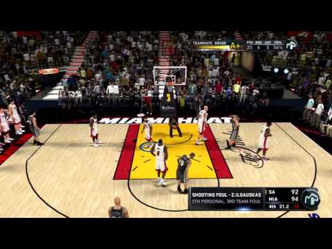 NBA 2K11 My Player Playoffs - NFG3 - 3-0 Opportunity