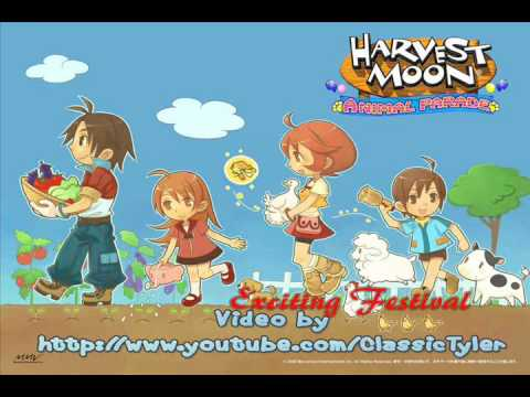 Harvest Moon: Animal Parade 33- Exciting Festival