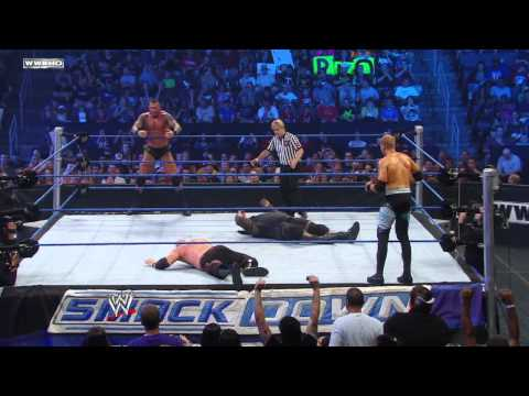 SmackDown: Randy Orton & Kane vs. Christian & Mark Henry