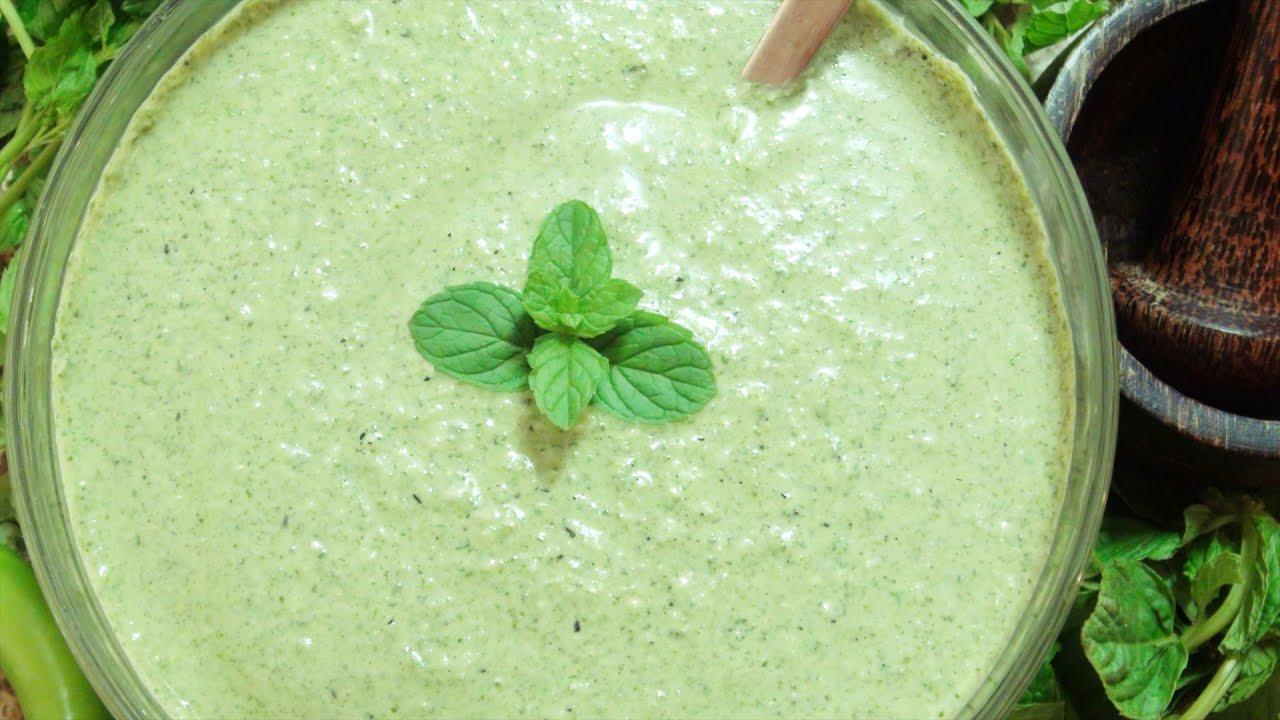 צ'טני נענע - מטבל הודי: מבשלים עם ונו