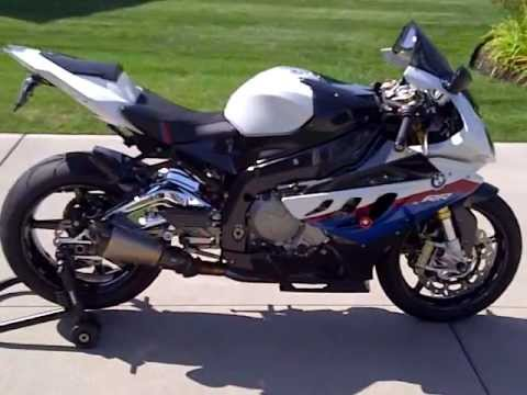 2010 BMW S1000RR custom carbon fiber with BST wheels