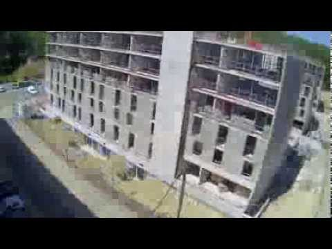 Timelapse - construction des nouvelles résidences étudiantes