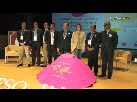 """Cospedal: """"El Congreso Internacional de la Tauromaquia ha sido todo un éxito"""""""