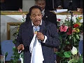 Dr. Willie James Campbell Holy Ghost DANCE at Mount Calvary