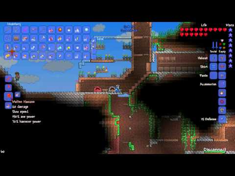 Let's Play Terraria - Co-op with ScreenRave - Part 45