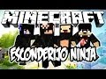 ESCONDERIJO NINJA! - Minecraft (NOVO)