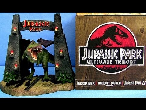 Jurassic Park Ultimate Trilogy Blu-ray Limited Edition unboxing review