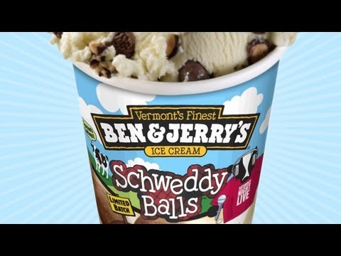 Ben  Jerry's Unveil Their Latest Flavor: Schweddy Balls Based On the Classic Alec Baldwin SNL Sketch