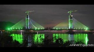 Ponte de Laguna fases da Construção