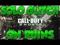 CoD Ghosts Multiplayer Glitches: Solo Out of Ruins Glitch Online!