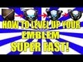 How to Level Up Your Emblem Super Fast in Black Ops 2 Zombies: Instant Max Rank