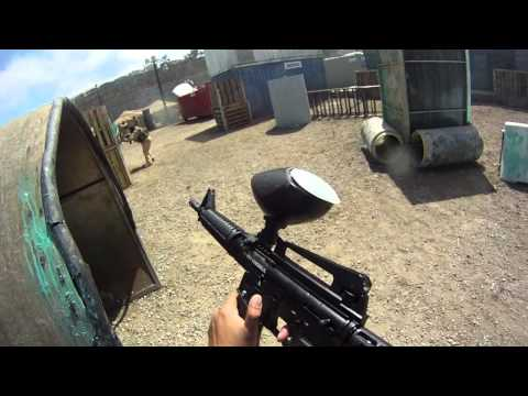 Scrapyard COD XP - Paintball with GO PRO HD HERO