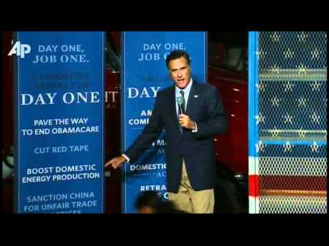 Romney Outlines Jobs Plan -TJSb43G3dY4