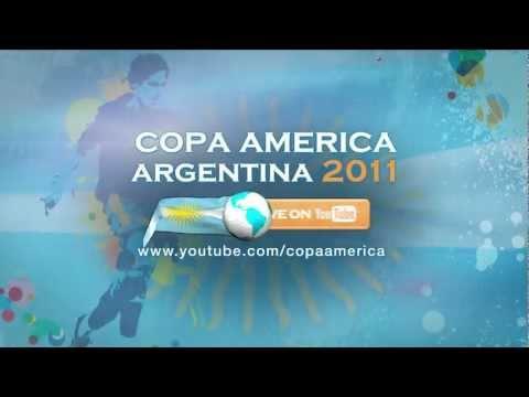 Copa America Live on YouTube