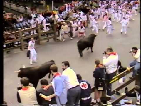 Encierro San Fermín   10 de julio de 1990 480p