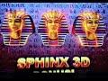 SPHINX 3D slot machine Bonus and  Ramosis Wild Feature WIN