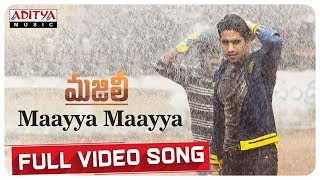 Maayya Maayya Full Video Song || MAJILI