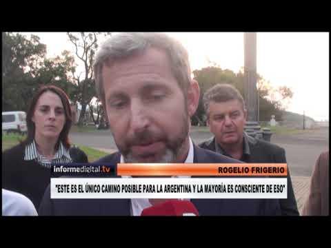 <b>Cambiemos.</b> Frigerio presentó candidatos y chicaneó al kirchnerismo en Paraná