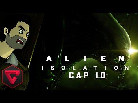 """ALIEN: ISOLATION - ¿UN VERDADERO ANDROIDE """"AMIGO""""? #10 (Playthrough / Walkthrough Español)"""