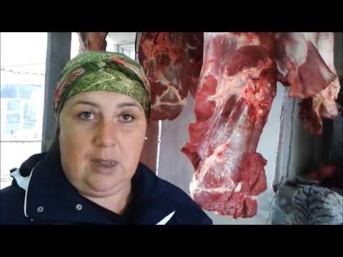 Как разделать тушу говядины