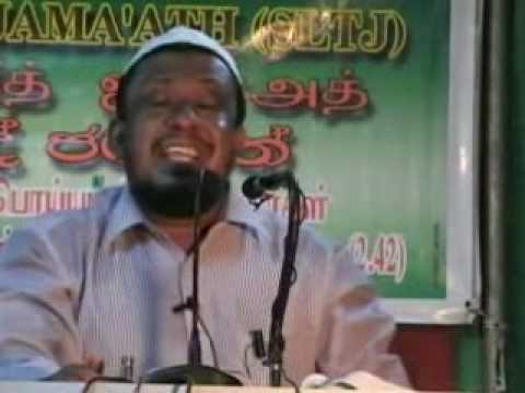 Responsibilites of Muslims in Current times. Tamil Part 4