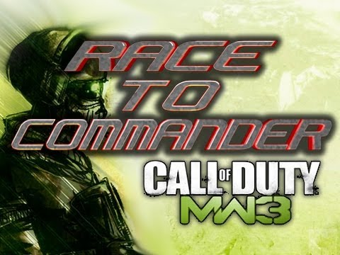 MW3 - Race To Commander! Game 7 - HOLY 8=Ds ON A STICK
