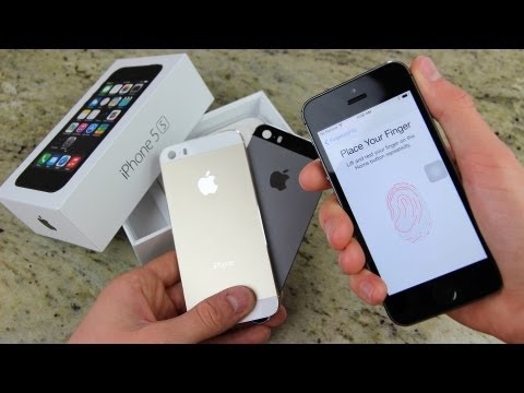 New iPhone 5S Unboxing