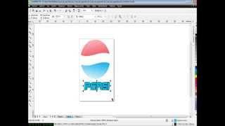 Corel Draw X5 - Como Hacer El Logo De La Pepsi