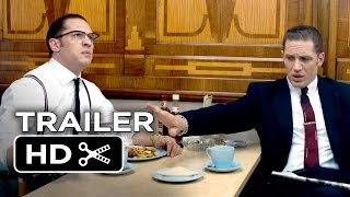 Legend Official Trailer #1 (2015) - Tom Hardy, Emily Browning Movie HD