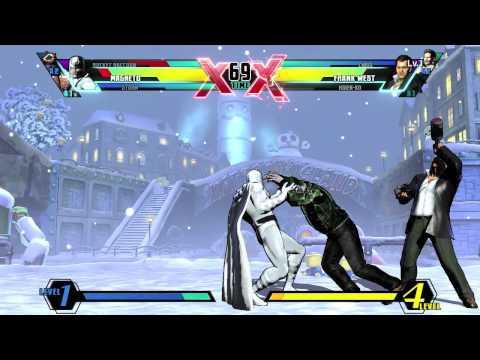 Rocket Raccoon vs Frank West - Gameplay - Ultimate Marvel vs. Capcom 3