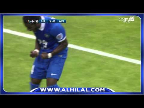 شاهد بالفيديو دخلة فريق الهلال السعودي والعين - ذهاب نصف نهائي دوري أبطال اسيا