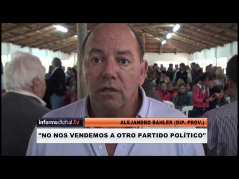 <b>Massismo. </b>Bahler y Martinez Garbino juntaron tropa en Paraná