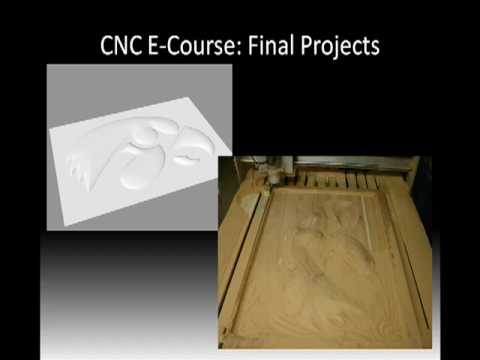 CNC Basics E-Course 7 | Final CNC Projects | Learn CNC ...