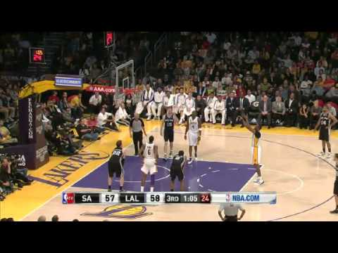 NBA San Antonio Spurs Vs LA Lakers Highlights Apr 14, 2013 Game Recap