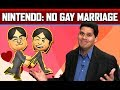Straight Talk ★ Nintendo Bans Gay Marriage