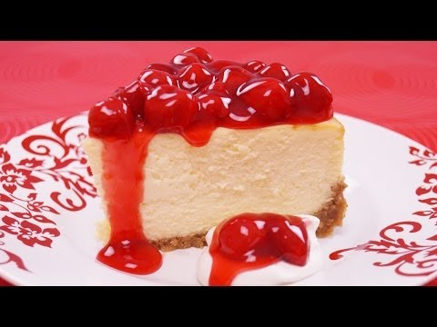 How to Make New York Cheesecake from Scratch - Mom's Cheesecake Recipe - Dishin With Di #120