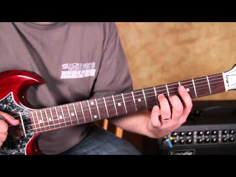 Blues Guitar Lesson in the Style of Green Onions by Booker T and the MG's gibson sg