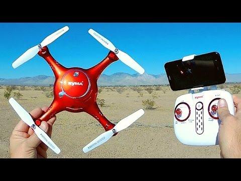 Syma X5UW Altitude Hold Camera Drone Flight Test Review - UC90A4JdsSoFm1Okfu0DHTuQ