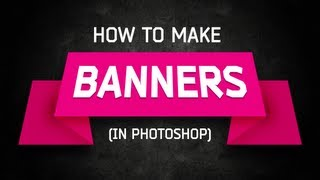 Photoshop Tutorial: Banners and Ribbons