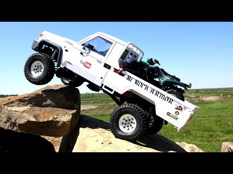 Toyota LC70 Land Cruiser w/ ATV - as Fast as Necessary, as Slow as Possible | RC ADVENTURES - UCxcjVHL-2o3D6Q9esu05a1Q