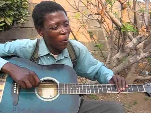 "Botswana Music Guitar - Ronnie - ""Ba koba bana""."
