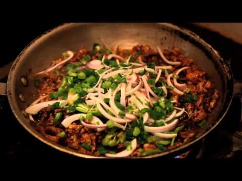 NY CHOW Report - Hand Pulled Cumin Lamb Noodles at Xian