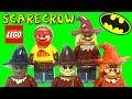 LEGO Scarecrow DC Super Heroes Batman Minifigure Comparison Collection ????