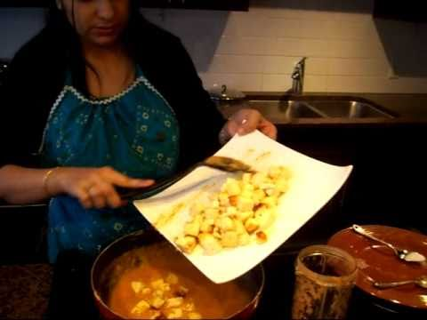 Shahi Paneer recipe, Indian Vegetarian curry  with cottage cheese
