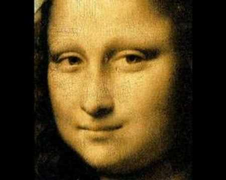 Leonardo da Vinci paintings of women music video