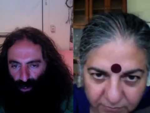 Dr Vandana Shiva and Costa Georgiadis - Seed Freedom Fortnight: 2-16 October 2012
